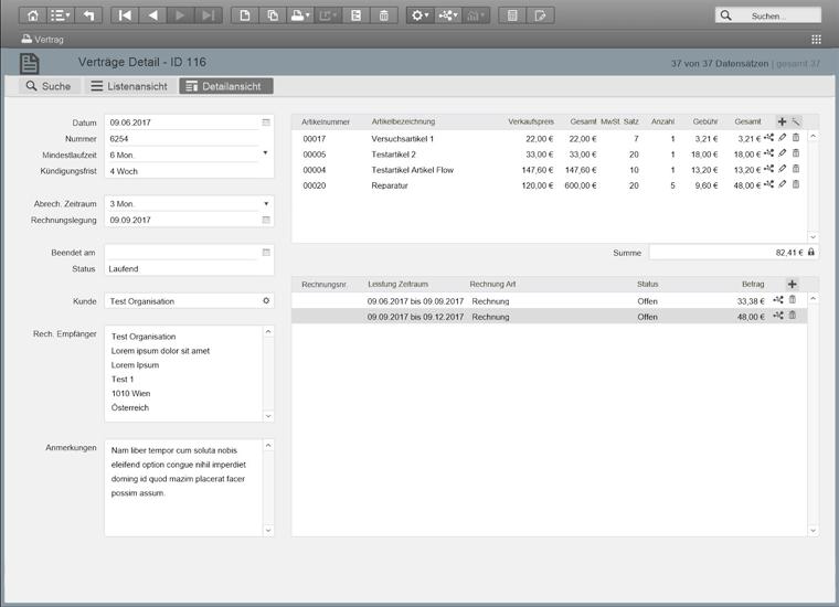 KoschierFlow Software Screenshot
