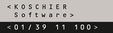 KOSCHIER Software-Entwicklung GmbH Logo